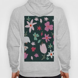 Handmade Out In the Forest Floral Patter Hoody