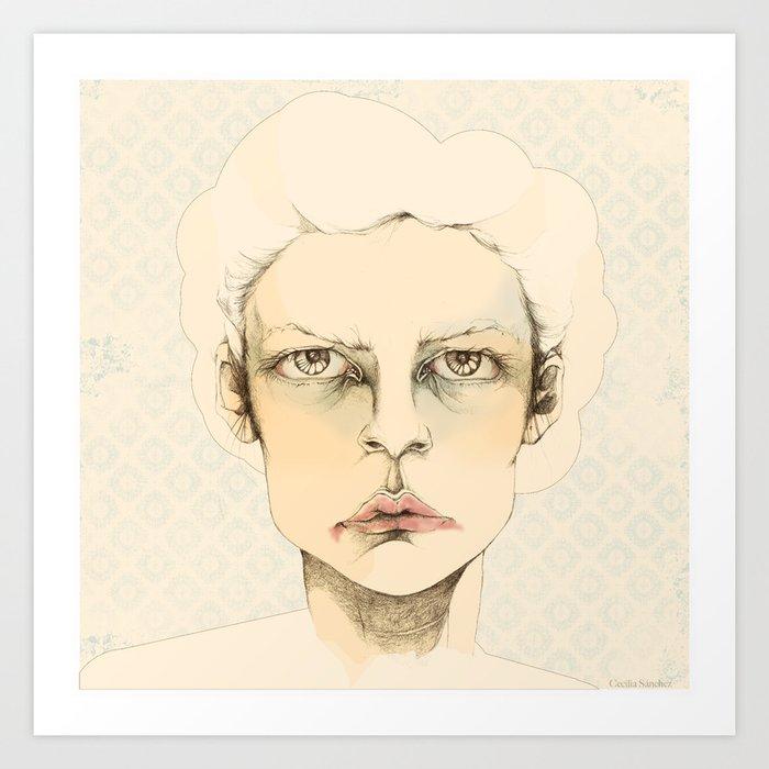 """portrait of anybody"" Art Print"
