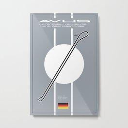 Avus Racetrack, Berlin Metal Print