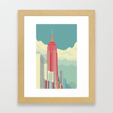 NYC 5th Avenue Framed Art Print