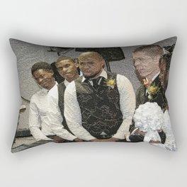 The Three Best Men Rectangular Pillow