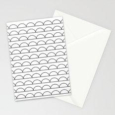 pomak (white) Stationery Cards