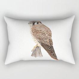 Falcon Watercolor Painting  Rectangular Pillow