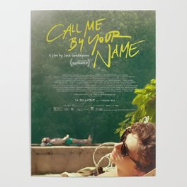 Call Me By Your Name Movie Poster Poster