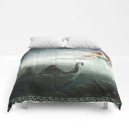 Lady of the Lake Comforters