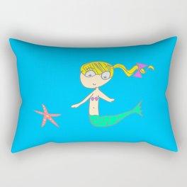 Little Mermaid Rectangular Pillow