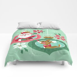 Merry Christmas from Santa & Rudolph Comforters