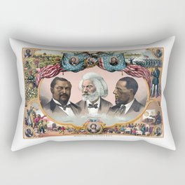 Heroes Of The Colored Race Rectangular Pillow