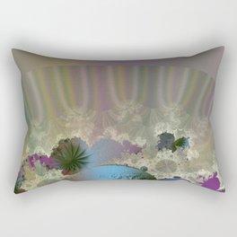 Under the calm surface Rectangular Pillow