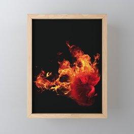 All-Consuming Passion Framed Mini Art Print