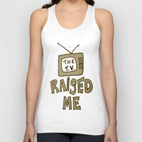 tv Tank Tops featuring tv by gasponce