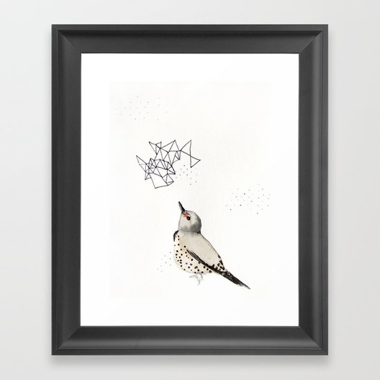 Northern Flicker Framed Art Print