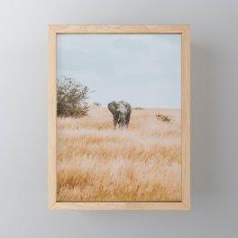 African Safari Framed Mini Art Print