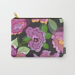 Colourful Chinoiserie Carry-All Pouch