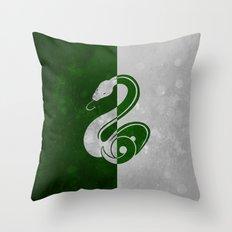 Slytherin Throw Pillow