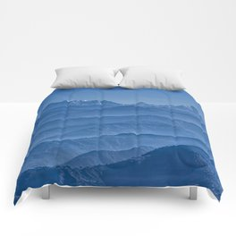 Blue Hima-layers Comforters