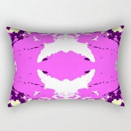 Ichitomi - Abstract Colorful Batik Camouflage Tie-Dye Style Pattern Rectangular Pillow