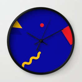 Geometric Shapes 01 Wall Clock