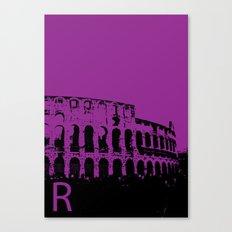 Rome R Canvas Print