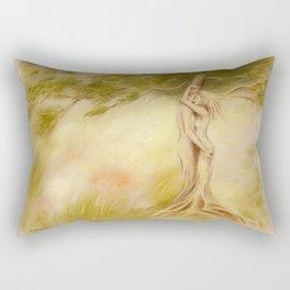 Mystic Tree - Symbolism Rectangular Pillow