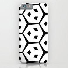 Van Trijp Black & White Pattern Slim Case iPhone 6s