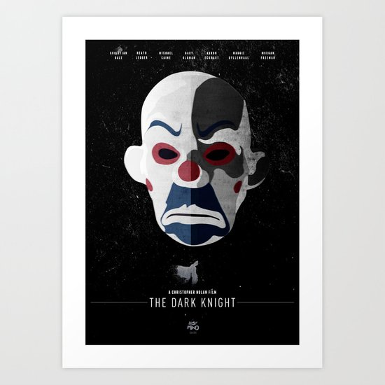 The Dark Knight Art Print