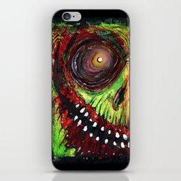 Grinning Evil iPhone Skin