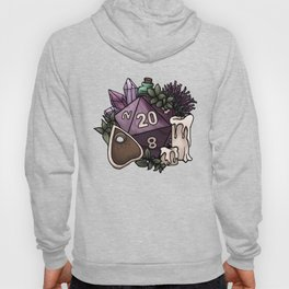 Witchy D20 Tabletop RPG Gaming Dice Hoody