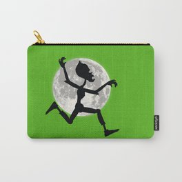 Friendly Zombie On The Go - Run Carry-All Pouch