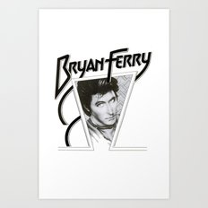 Bryan Ferry Art Print