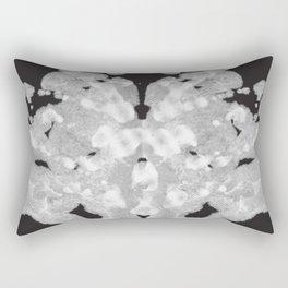 Rorschach Inkblot Test Rectangular Pillow