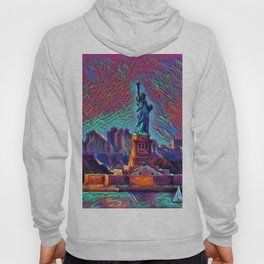 Lady Liberty in NYC Hoody
