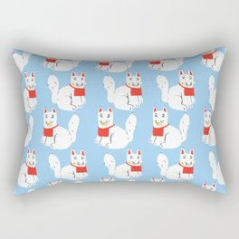 Kitsune - Japanese Messenger Fox Rectangular Pillow