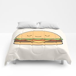 Happy Burger Comforters