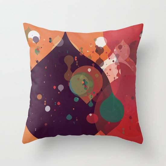 Scatter 1 Throw Pillow