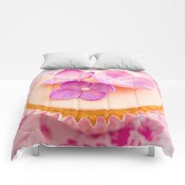 Decorated cupcake Comforters