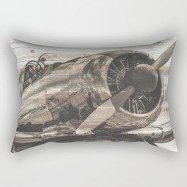 Old airplane 1 Rectangular Pillow