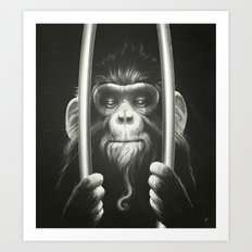 Prisoner II Art Print