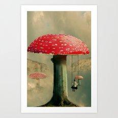 Wundershroom Art Print