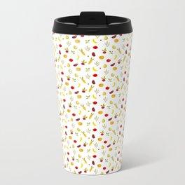vegetable pattern Metal Travel Mug
