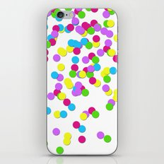 Party Confetti iPhone & iPod Skin
