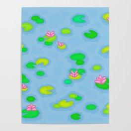 Pixel Lake Poster