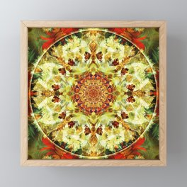 Mandalas from the Depth of Love 9 Framed Mini Art Print