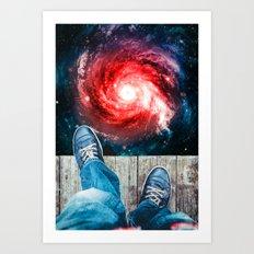 Edge Of The Universe Art Print