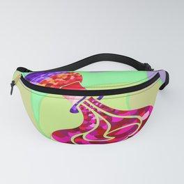 Aquarius Neon Fanny Pack