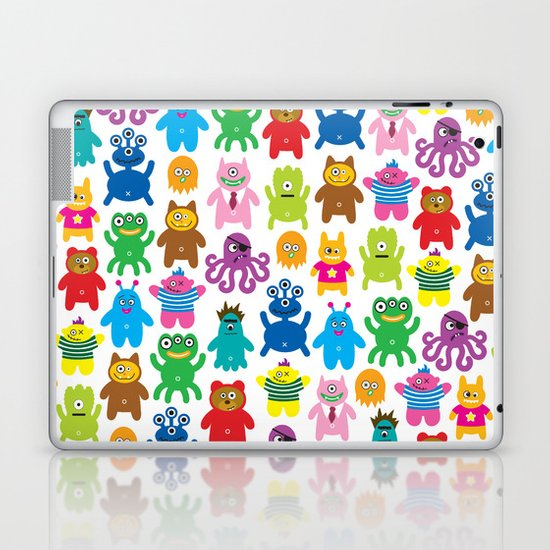 Monsters and Aliens Laptop & iPad Skin