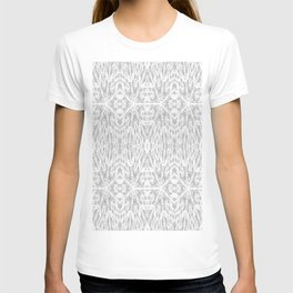 Pattern Grey / Gray T-shirt