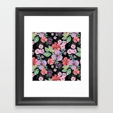 Floral pattern 8 Framed Art Print