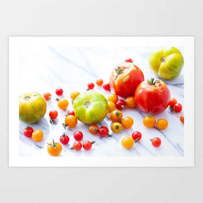 Tennessee Tomatoes 2 Art Print