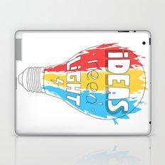Ideas Need Light Laptop & iPad Skin